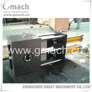 Plastic Recycling Pelletizers Melt Filter -Double Plate Type Continuous Screen Changer pictures & photos