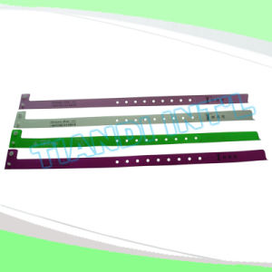Entertainment Alert Plastic Snap Bracelet Wristband Bands (E8060-1) pictures & photos
