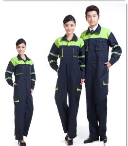 OEM Order Coverall Jacket and Pants Set Safety Uniform pictures & photos
