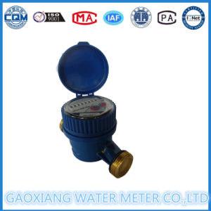 Brass Single Jet Residential Water Meter pictures & photos
