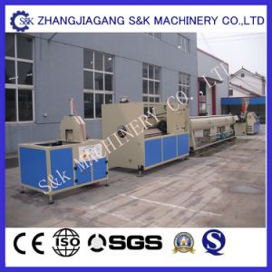 High Speed Plastic Pipe Double-Strand Extrusion Line pictures & photos
