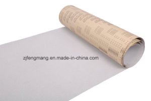 Semi-Friable Aluminum Oxide Special Coated Abrasive Cloth Roll J64D pictures & photos