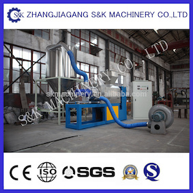 Plastic PP PE Film Squeezing Pelletizing Machine pictures & photos