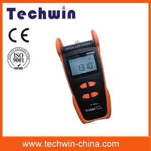 Techwin Fiber Optic Tester Tw3109e Laser Source Meter pictures & photos