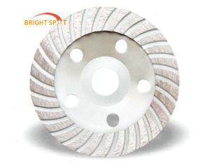 Diameter Turbo Grinding Cup Wheel with Aluminum Base pictures & photos