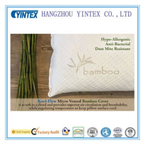 2016 Popular Bamboo Shredded Memory Foam Pillow pictures & photos