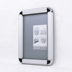 Aluminum Poster Frame, A4 Size, Silver, Wall Mounted pictures & photos