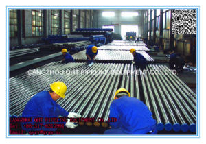 ASTM A335 Gr P9 Alloy Steel Seamless ERW Saw Steel Pipe pictures & photos