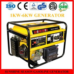 High Quality 6kw Gasoline Generator for Home Use with CE (SV15000) pictures & photos