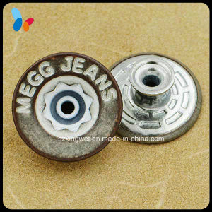 Retro Jeans Metal Button with Hollow Cap pictures & photos