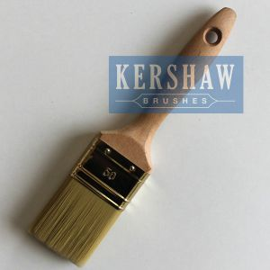 Paint Brush (paintbrush, tapered filament flat brush with beech wood handle) pictures & photos