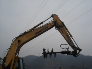24inch Heavy Duty Hydraulic Post Hole Digger pictures & photos