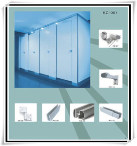 Fashion Phenolic Resin Fireproof Aluminum Toilet Partition pictures & photos