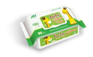 Economic High Quality Soft Baby Wet Wipe 90 PCS pictures & photos