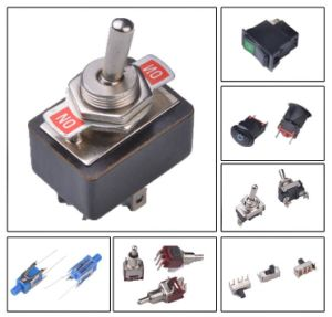 Automotive Square Boat Push Button Switches pictures & photos
