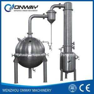 Qn High Efficient Factory Price Stainless Steel Milk Tomato Ketchup Apple Juice Concentrate Vacuum Industrial Juice Machine pictures & photos