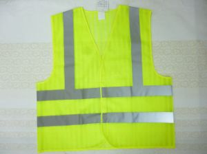 Safety Vest Made of Special Mesh Fabric pictures & photos
