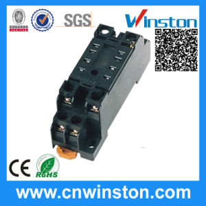 General Purpoe 8pin Automatic Plastic Solid State Relay Socket with CE pictures & photos