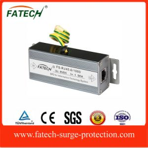 foshan electrical and lightning signal surge protector SPD for network equipment with RJ45 connector pictures & photos