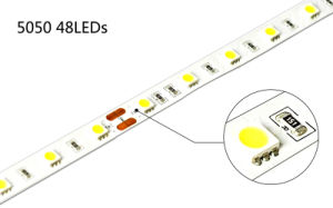 Warm White 48LEDs/M CRI95 SMD5050 Flexible Strip Light pictures & photos