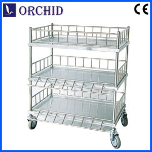 Stainless Steel Apparatus Trolley (Q-17)