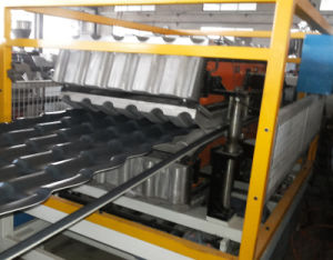 Factory Sell PVC+Asa Glazed Tiles Making Machine pictures & photos