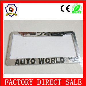 Hot Sale Wholesale Custom Plastic License Plate Frame pictures & photos