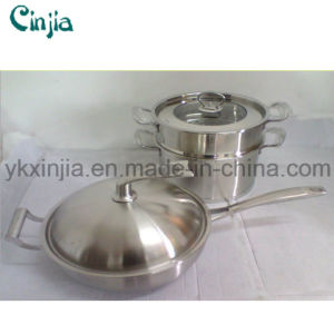 5psc Set with Stand Stainless Steel Kitchenware pictures & photos