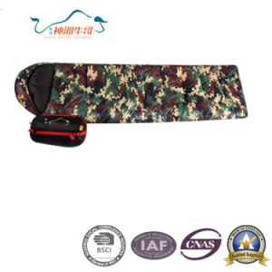 Camouflage Top Grade Envelope Camping Sleeping Bag pictures & photos