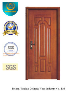 European Style MDF Door with Solid Wood for Room (xcl-811) pictures & photos