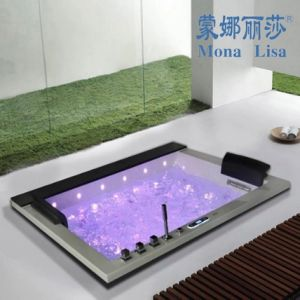 Monalisa White Acrylic Indoor Massage Bathtub M-2050 pictures & photos