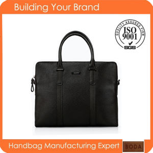High Quality Wholesale Genuine Leather Business Men Bag pictures & photos