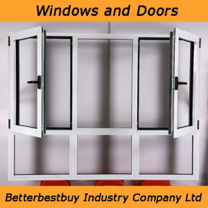 Double Glass Swing Aluminum Window pictures & photos