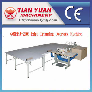 Qbbbj-2000 Complete Set Edge Cutting Packing Machine for Quilts Blankets pictures & photos