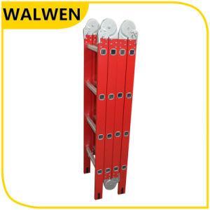Plastic-Sprayed Multi-Purpose Aluminum Joint Ladder pictures & photos