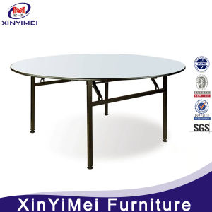 12 Seater Dining Table Modern Steel Frame Round Banquet Table pictures & photos