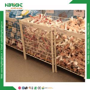 Supermarket Wire Promotion Marketing Dump Bins pictures & photos