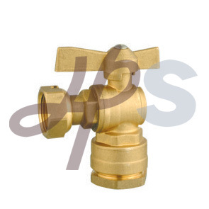Hb43 Brass Lockable Ball Valve for HDPE Pipe Connection pictures & photos