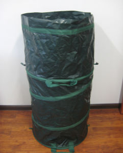 Extra Large PE Woven Garden Waste Bin pictures & photos