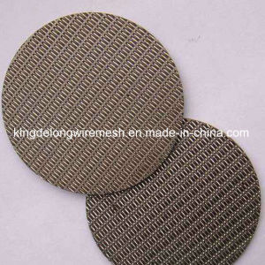 Stainless Steel Wire Mesh Water Filter Disc pictures & photos