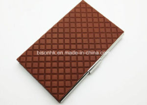 Factory Made Leather Business Card Holder pictures & photos