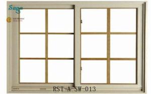 Aluminum Sliding Window with Grill Design Saga Window