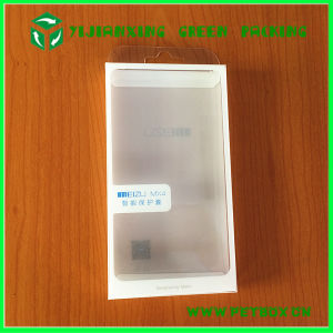 Plastic Clear Box Flat Pack Packing Cell Phone Case Packaging Box with Insert Tray pictures & photos