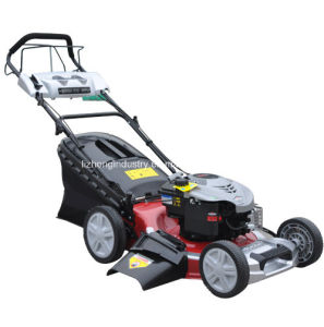 4HP B&S Engine 18inch Self Propelled Lawn Mower Factory, Walk Behind Lawn Mower, Petrol Lawn Mower (LZ18GTZB40) pictures & photos