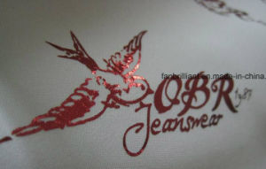 Laser Foil Heat Transfer Sticker with Many Color