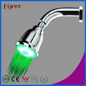 Fyeer Novelty Colorful Self Powered LED Hand Shower Head pictures & photos