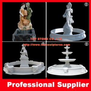 Granite/Marble Garden Water Fountain Stone Fountain pictures & photos