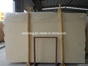 Polished Sunny Beige Marble for Decoration Material pictures & photos