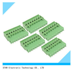5A 8 Pin 8-Way PCB Connector Screw Terminal Block pictures & photos
