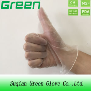 Clear Powder/Powder Free Disposable Medical Vinyl Gloves (ISO, CE certificated) pictures & photos